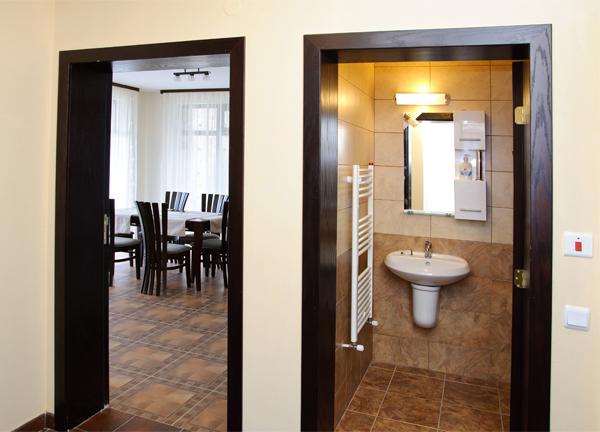 WC и баня до дневната