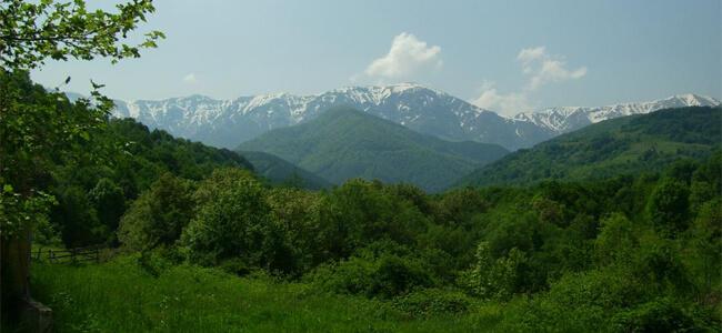 Панорама към Стара планина