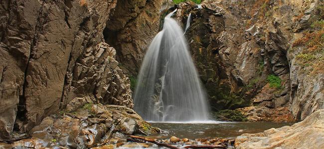 """Водопада """"Големият Скок"""" при река Мъглижка (Селченска)"""