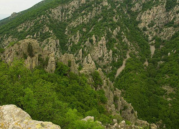 Панорамен изглед към Балкана