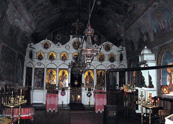 Храма в манастира Св. Николай